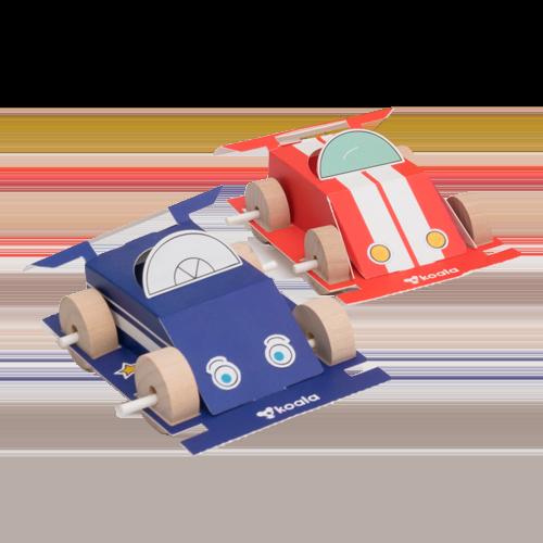KiwiCo Speedy Race Cars Project Kit