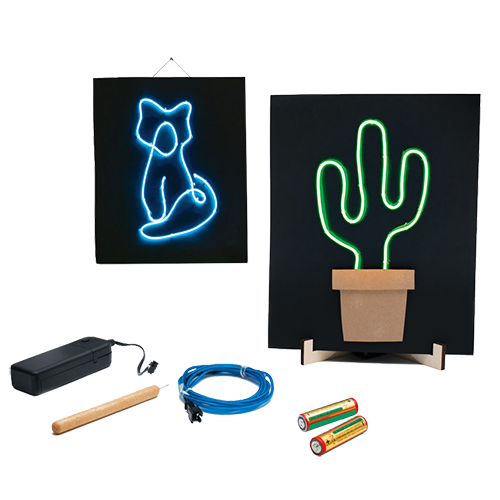 Light-Up Wire Art product image