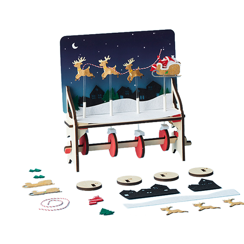 Santa's Sleigh Automaton product image