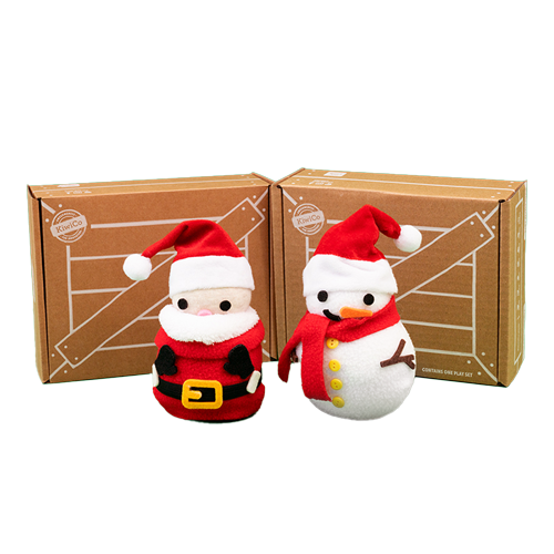 Santa and Snowman Wobbler (2-Pack) product image