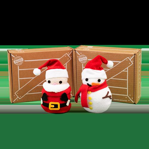 Santa and Snowman Wobbler (2-Pack) product image
