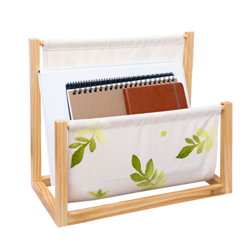 Stenciled Book Holder product image