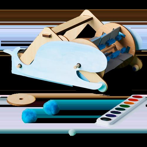 Kiwi Crate Mechanical Sweeper Project Kit